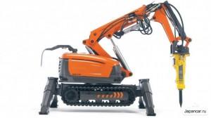 Husqvarna демонстрира роботи за почистване на радиоактивни строителни отпадъци