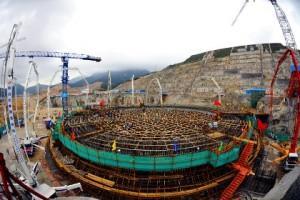 """Завърши монтажът на купола на ядрения остров на първи блок в АЕЦ """"Тайшан"""""""
