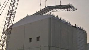 ТЕРСО: Строителството на купола над първия блок на АЕЦ Фукушима-1 завърши