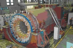 """Форсиране на мощността на турбогенераторите ТВВ 1000-4УЗ, същите като на 5 и 6 енергоблок на АЕЦ """"Козлодуй"""""""