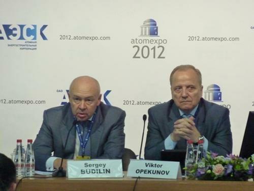 «АТОМЭКСПО-2012» – ОАО «Атомэнергопроект» – проект «ВВЭР-ТОИ»
