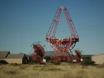 Намибия – заработи най-големият черенковски телескоп