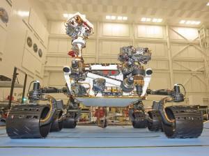 Марсоходът Curiosity достигна повърхността на Марс