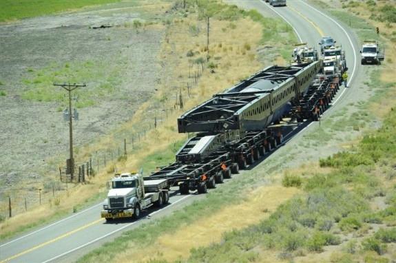 """САЩ – АЕЦ """"Сан-Онофре"""" – транспортиране на демонтираните парогенератори"""