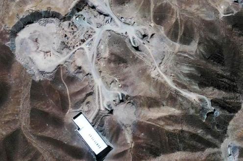 Взривен е основен ядрен обект на Иран?