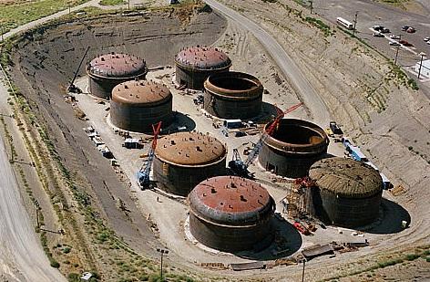 САЩ – протича резервоар в хранилището за РАО в Хенфорд