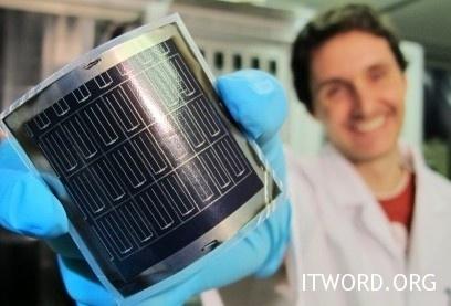 Нов световен рекорд по ефективност на гъвкавите слънчеви батерии