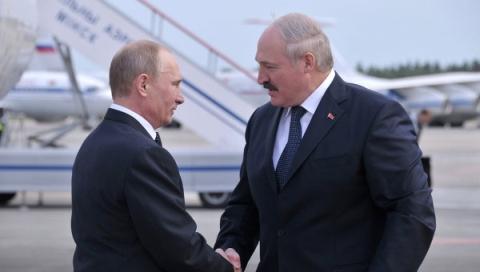 Путин: дейностите по строителството на АЕЦ в Беларус изпреварват графика