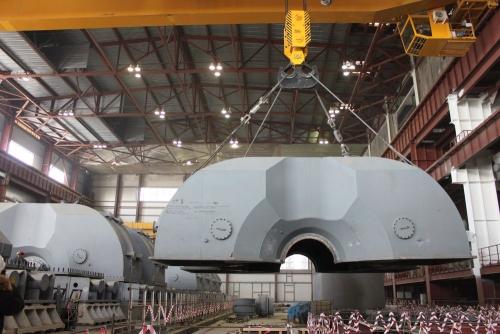 Русия – На Нововоронежката АЕЦ-2 са завършени основните работи по монтажа на турбината на първи енергоблок