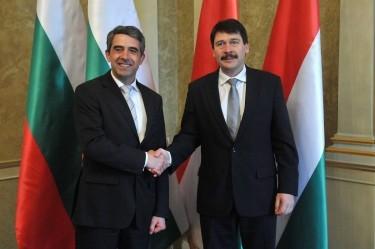 Президентът Росен Плевнелиев на посещение в Унгария – енергийни аспекти