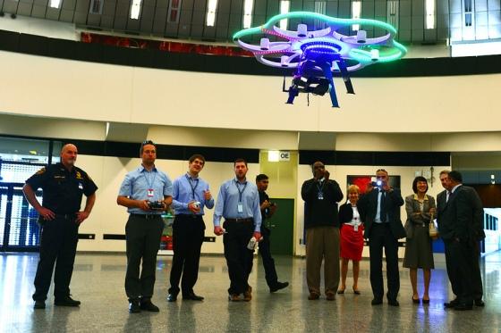 МААЕ – презентация на безпилотни летателни апарати за радиационен мониторинг
