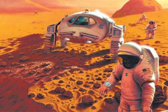 Пилотираният полет до Марс е технически осъществим, но проблемът с радиацията остава