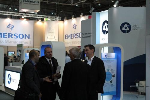 Росатом взе участие в XXI Международна изложба и конференция Power-Gen Europe 2013