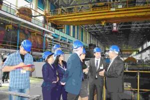 Работни посещения на представители на ЕБВР в ДП РАО