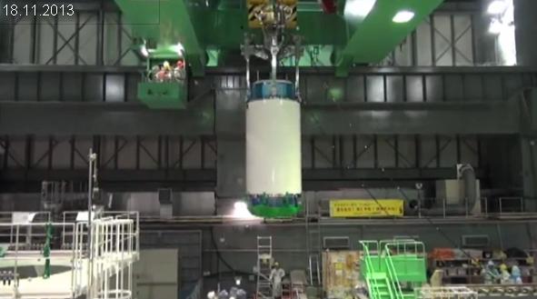 """Япония – АЕЦ """"Фукушима-1"""" – Завърши транспортирането на първата партида горивни касети от 4 блок"""