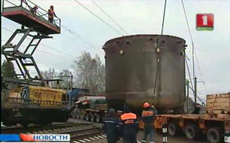 Беларус – Спряха влаковете за да премине корпуса на уловителя на стопилката за Островецката АЕЦ
