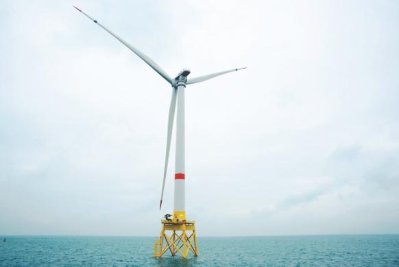 Монтирана е най-голямата в света офшорна вятърна турбина