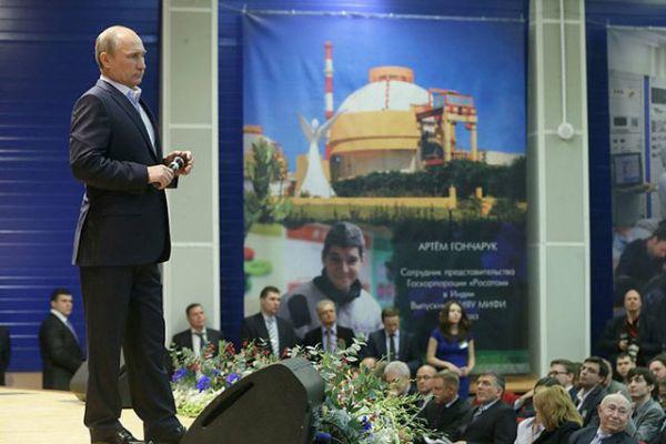 Владимир Путин: до 2030 година в Русия ще бъдат построени 28 нови ядрени енергоблока