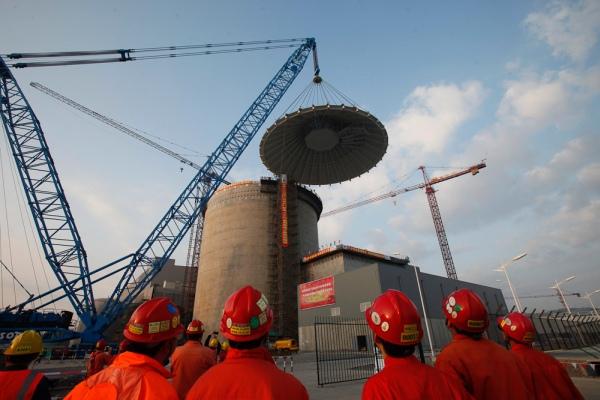 Китай – AP1000®– монтираха куполите на първите 2 ядрени острова