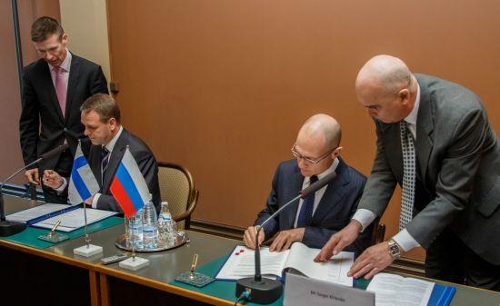 Русия и Финландия подписаха споразумение за стратегическо партньорство в ядрената енергетика