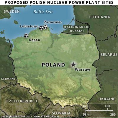 Полша прави първите практически стъпки към построяването на АЕЦ