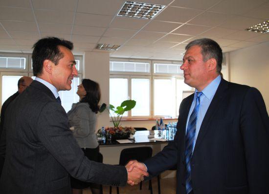 ДП РАО – Среща с посланика на Франция в България