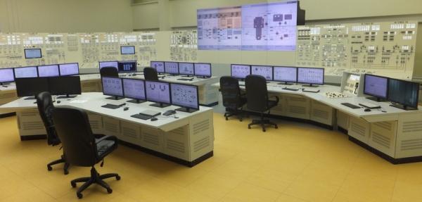 НВАЕЦ-2 – блочният пункт за управление (БПУ) на първи енергоблок е в експлоатационен режим