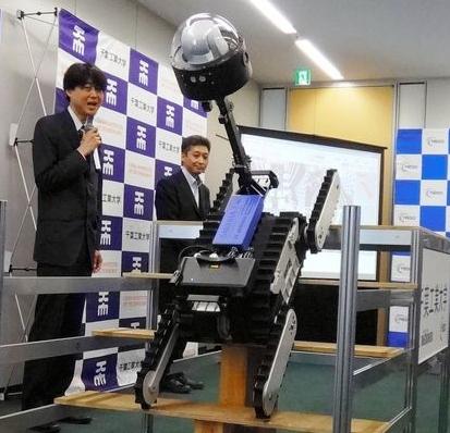 В Токио беше представен робот за работа по време на извънредни ситуации на АЕЦ