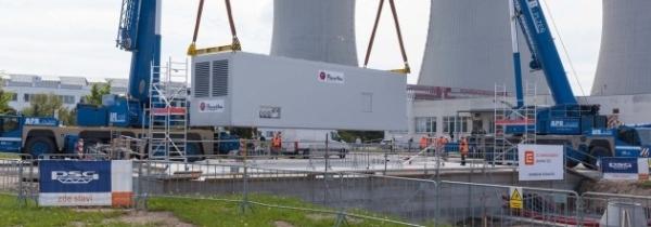"""Чехия – на АЕЦ """"Темелин"""" беше доставен американски дизел-генератор"""