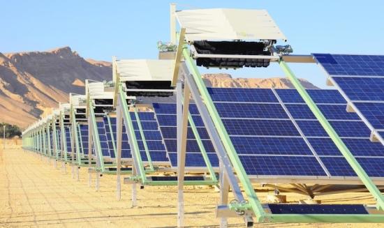 В Израел е разработена система за автоматично почистване на слънчеви панели