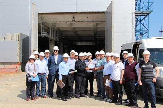 Делегация от турския парламент посети строящите се Ленинградска АЕЦ-2 и Нововоронежска АЕЦ-2