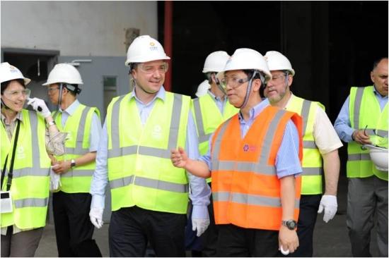 """Минисърът на икономиката и енергетиката на България посети площадката на локализирания проект с AP1000 на АЕЦ """"Sanmen"""""""