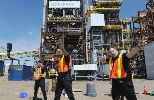 В Канада беше открит първият в света завод за преработване на отпадъците в биогориво