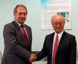Генералният директор на МААЕ Юкия Амано посети АЯР