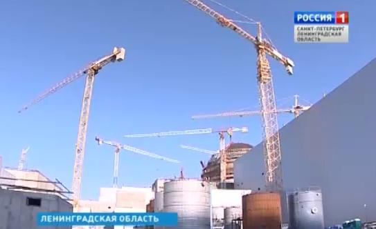 Сергей Кириенко инспектира строителството на първи блок на Ленинградската АЕЦ-2