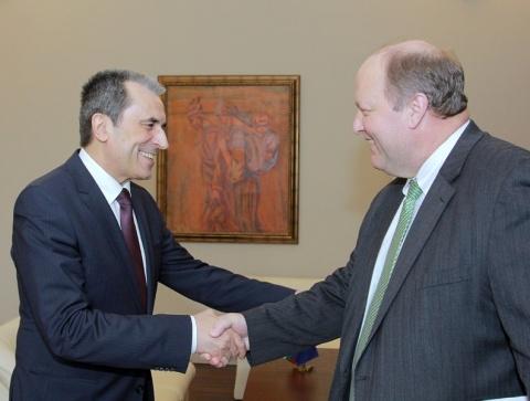 Президентът и Генерален изпълнителен директор на Westinghouse пристигна в България
