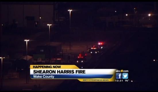 """САЩ – Пожарната е извикана на помощ в АЕЦ """"Harris"""""""