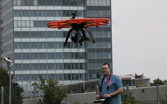 Пред комплекса на МААЕ демонстрираха дрон за Фукушима