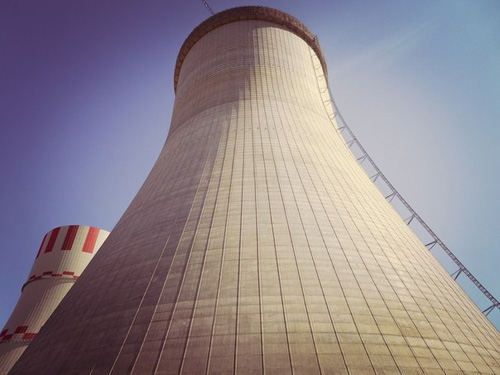 На Нововоронежската АЕЦ-2 завърши отливането на охладителната кула на втори блок