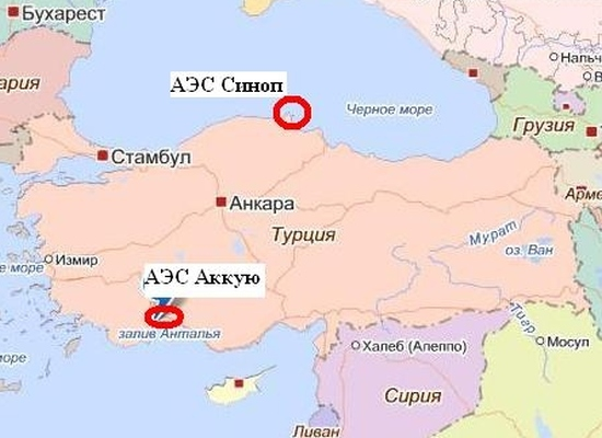 Турция ще построи третата АЕЦ със собствени сили