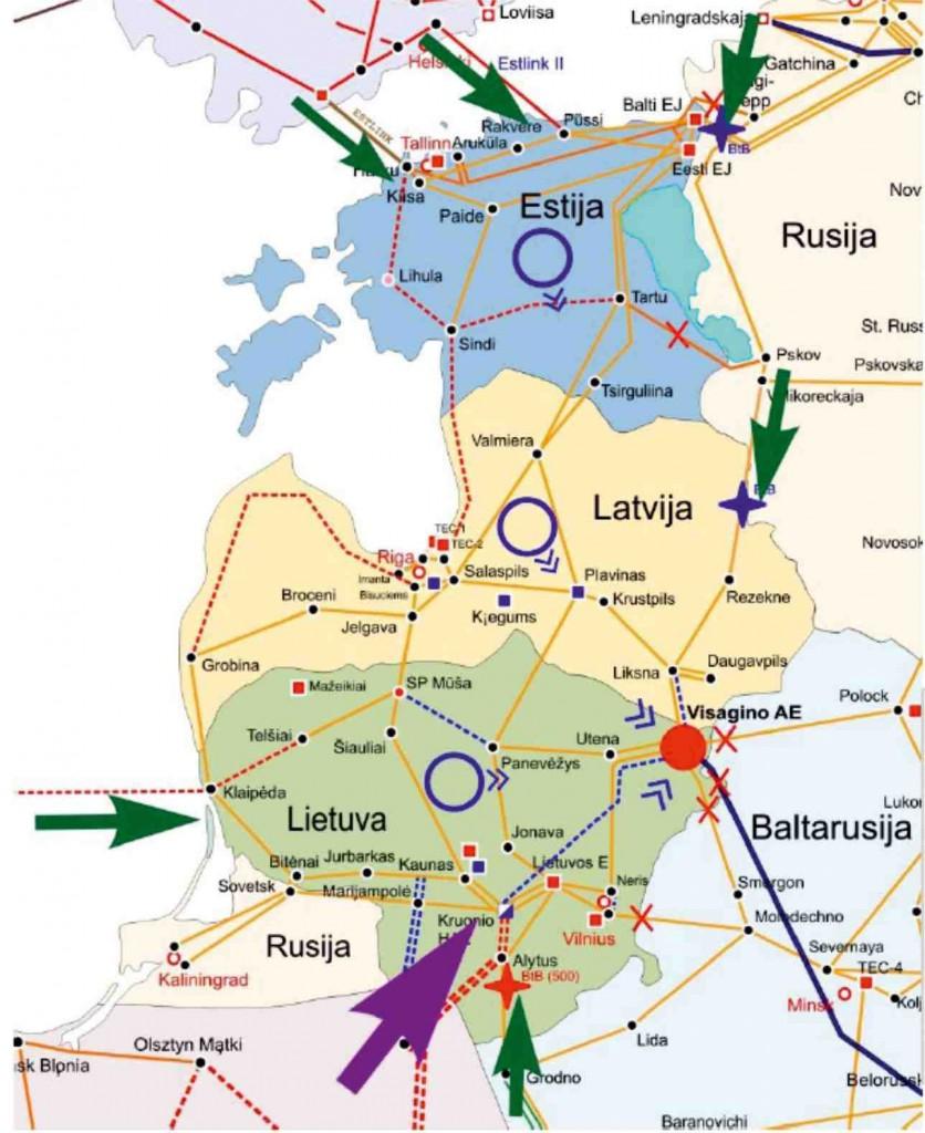 Полша и Прибалтика обсъждат отделяне на енергийните си системи от Русия