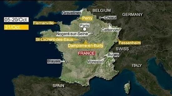 Дронове (безпилотни летателни апарати) летят над френски ядрени обекти – подробности