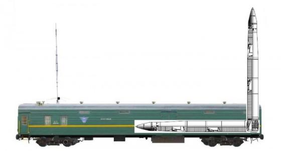Русия възстановява железопътните стратегически ракетни комплекси
