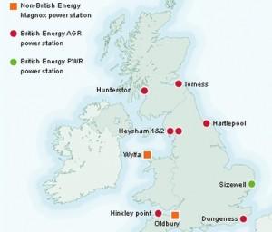 Великобритания – за последните три години 62 пъти са били принудително изключвани блокове в 15 АЕЦ
