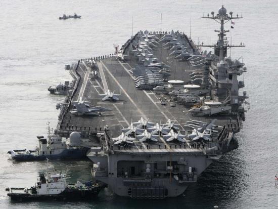 Пети американски флот удави радиоактивен източник със стронций-90
