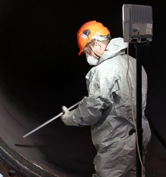 Русия – Успешни изпитания на нова технология за механично очистване на тежкото технологично оборудване