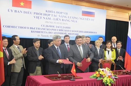Завърши седмото заседание на Руско-виетнамския съвместен координационен комитет по ядрена енергия