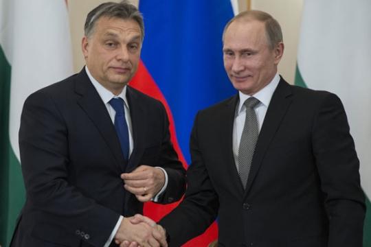 Европа е развълнувана в навечерието на посещението на Путин в Унгария