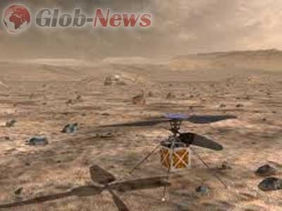 Ръководството на «NASA» планира да изпрати на Марс вертолети