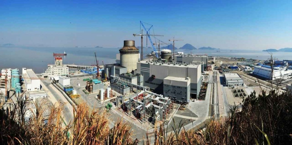 Китайските AP-1000 – основните етапи на изграждането